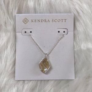Kendra Scott Ellington Bright Silver Necklace
